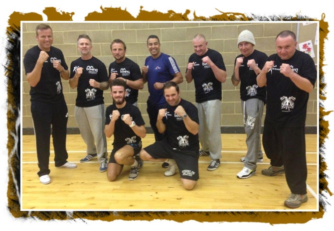 Gateway coaches attending the GB National Boxing Awards course in 2014.
